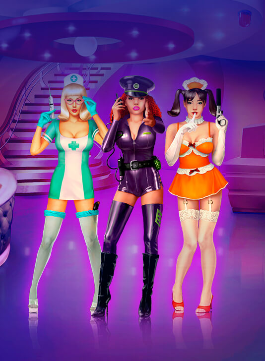Danger in Beauty: meet new hot slot Spy Girls!