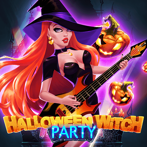 Halloween Witch Party Game Image