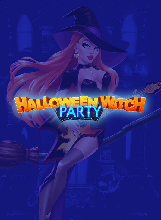 The new slot game Halloween Witch Party!