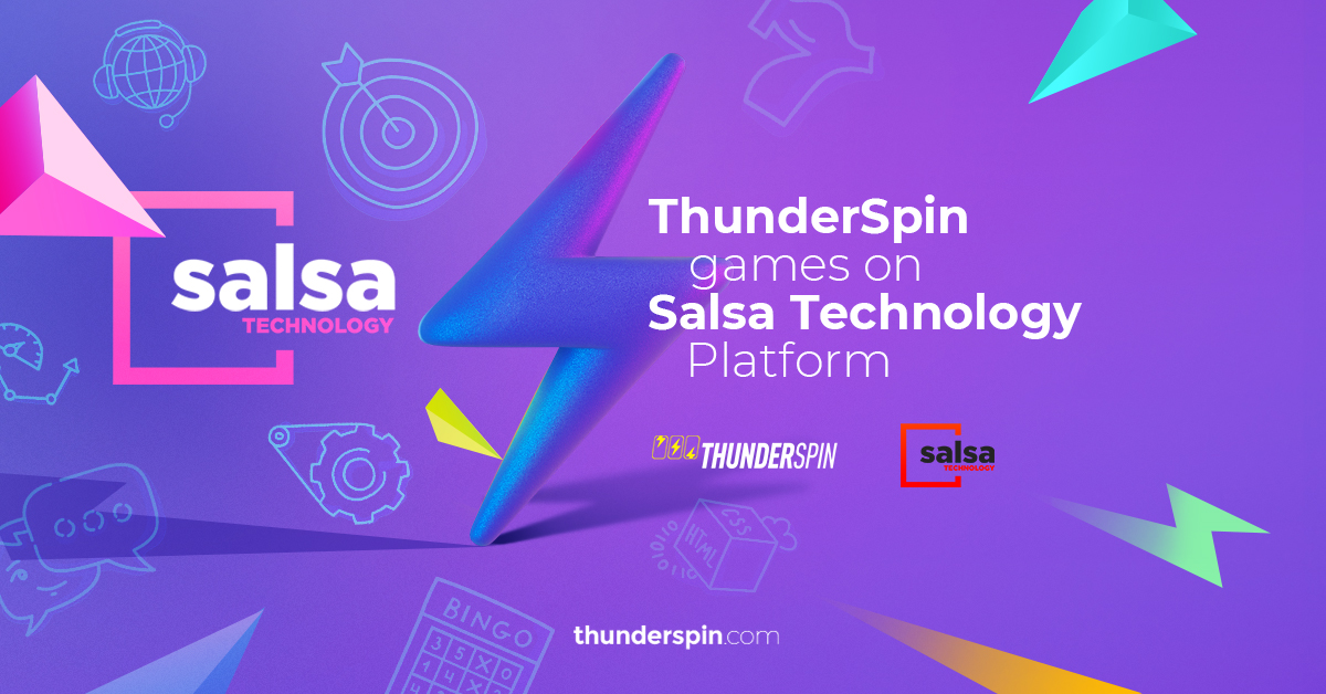 ThunderSpin integrates slot portfolio onto Salsa Technology