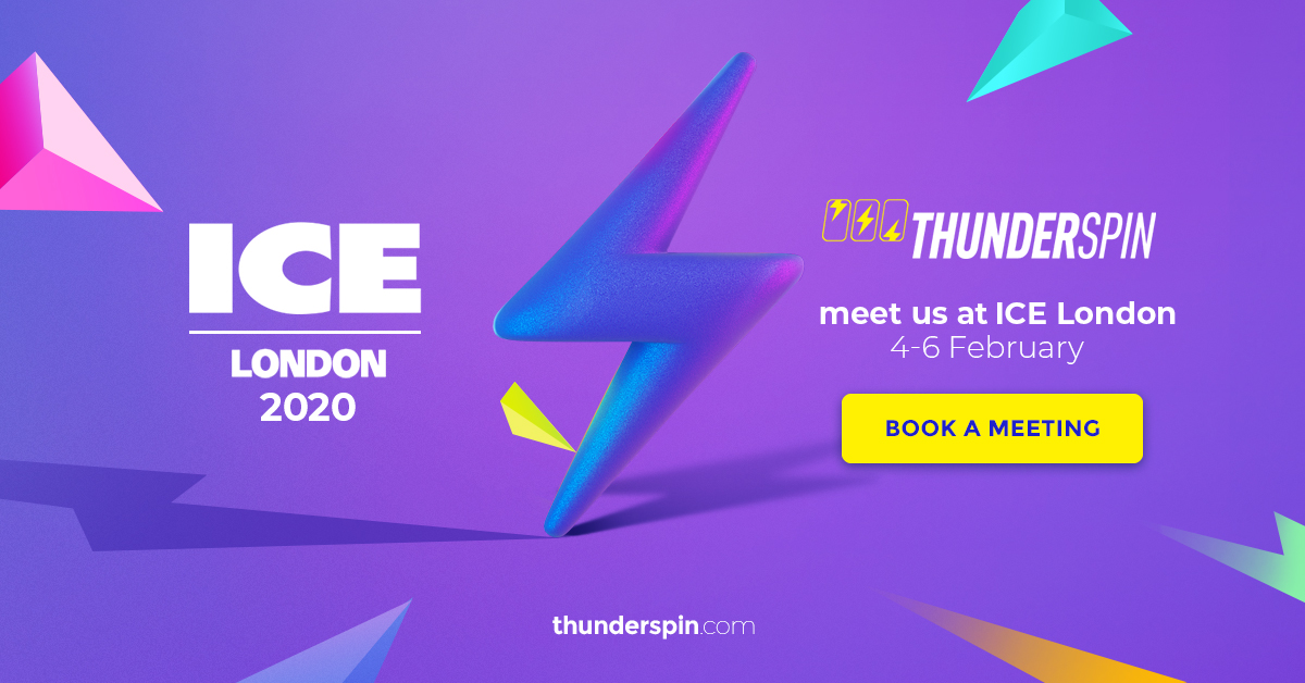 Meet ThunderSpin at ICE 2020, London