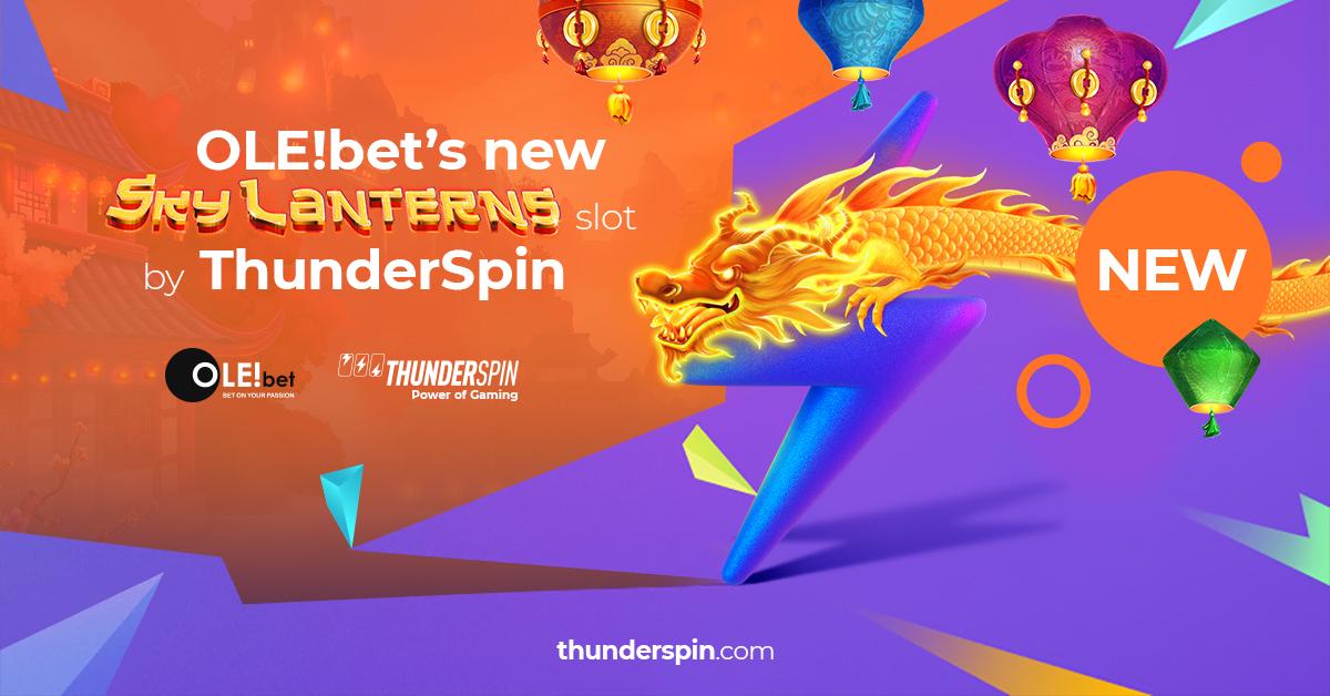 ThunderSpin releases brand new Sky Lanterns slot