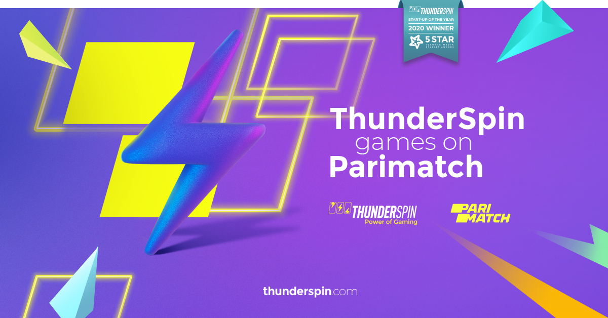 ThunderSpin and Parimatch are partners