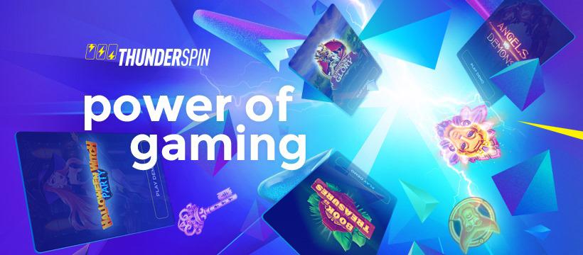 ⚡⚡⚡ThunderSpin - Power of Gaming