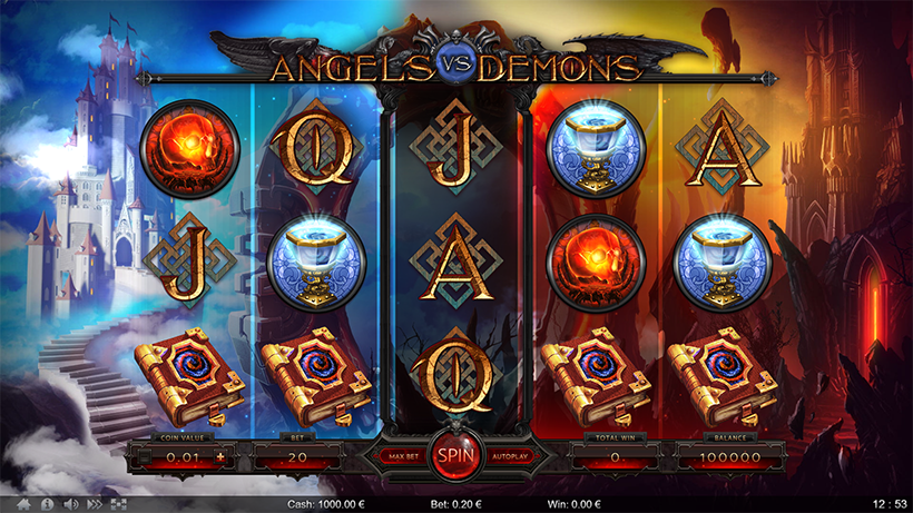 Angels vs Demons by ⚡⚡⚡ThunderSpin | Power of Gaming
