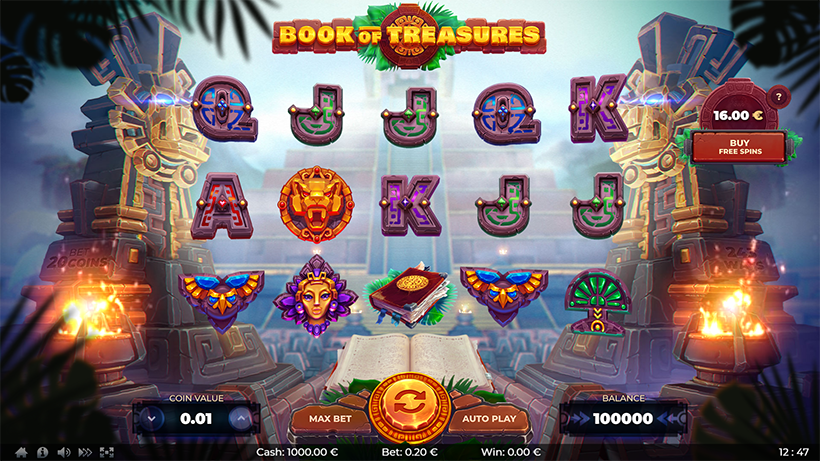 Book of Treasures by ⚡⚡⚡ThunderSpin | Power of Gaming