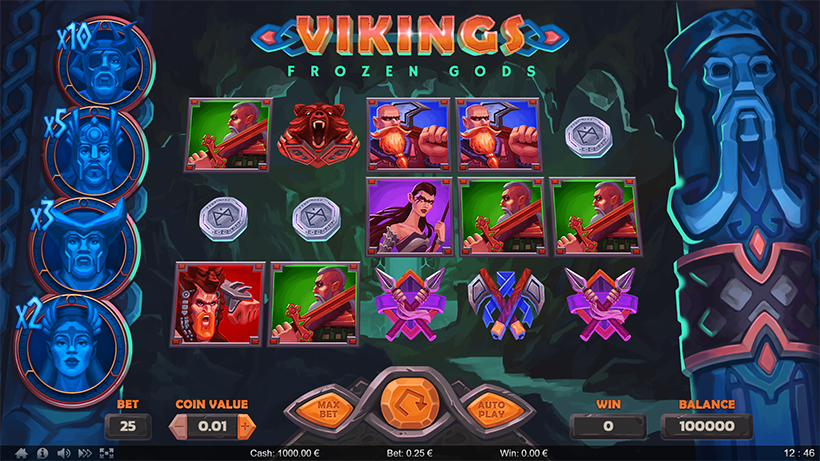 Vikings Frozen Gods by ⚡⚡⚡ThunderSpin | Power of Gaming