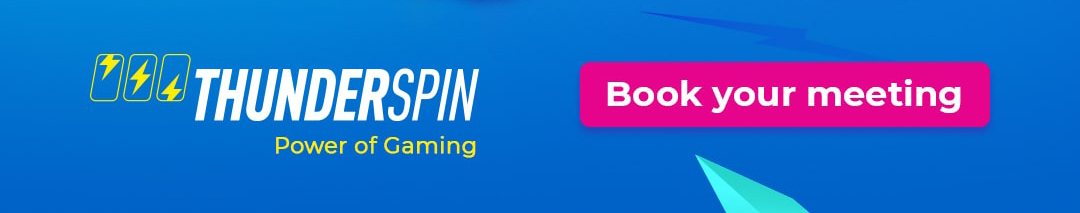 Book your meeting with ThunderSpin at Gaming Industry Expo, Kyiv, Ukraine, Booth #102, June 9-11.06