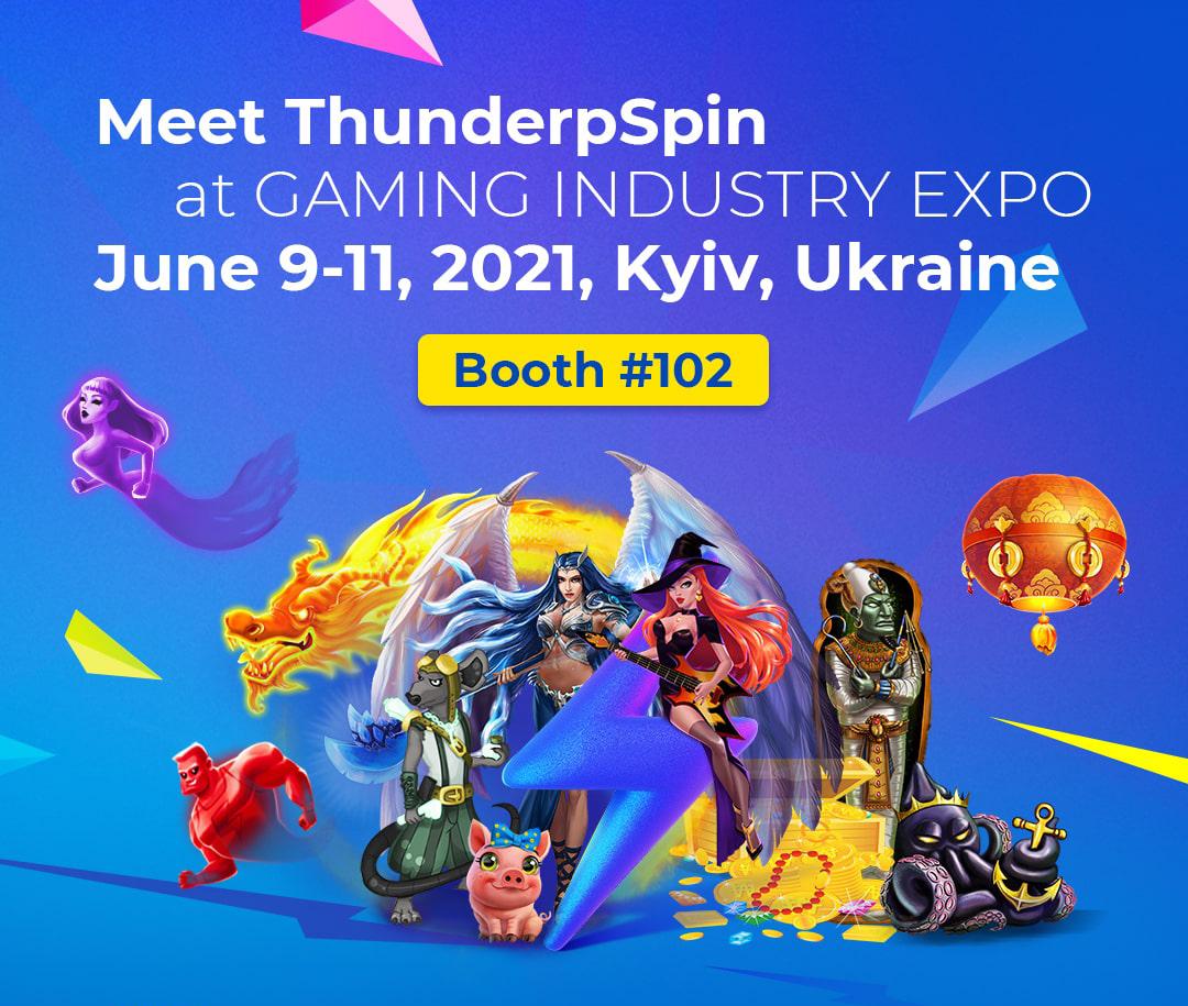 9-11.06, ThunderSpin at Gaming Industry Expo, Kyiv, Ukraine