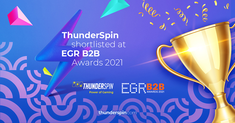 ThunderSpin shortlisted at EGR B2B Awards 2021 in Software Rising Star category